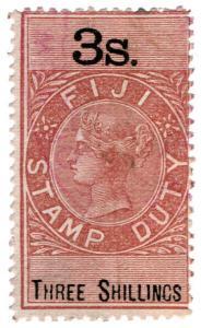 (I.B) Fiji Revenue : Stamp Duty 3/-