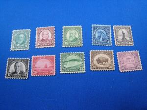 U.S. STAMPS FOR COLLECTORS - SCOTT #692 - 701   -  MNH   (kb692)