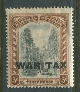 Bahamas -Scott MR10 - Queens Staircase War Tax -1918 - MLH - Single 3p Stamp