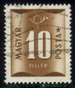 Hungary #J201 Postage Due, CTO (0.25)