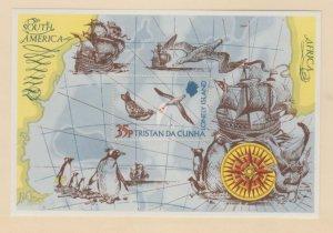 Tristan Da Cunha Scott #195 Stamps - Mint NH Souvenir Sheet