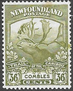 Newfoundland Scott Number 126 VF H