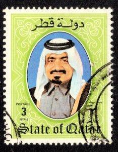 Qatar Scott 657 Used.