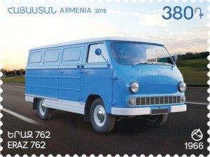 2018   ARMENIA - YERAZ VAN -  UNMOUNTED MINT
