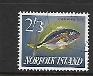 NORFOLK ISLAND, 60, USED, CARANGIDAE