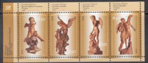 Estonia Sc 522 2005 Adamson Sculptures stamp sheet NH