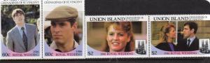 Union Island  1986 MNH