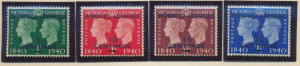 Great Britain, Offices In Morocco Stamps Scott #89 To 92, Mint Hinged - Free ...