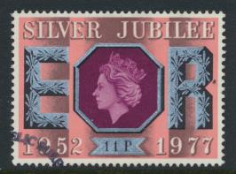 Great Britain  SG 1036 SC# 813 Used / FU with First Day Cancel - Silver Jubilee