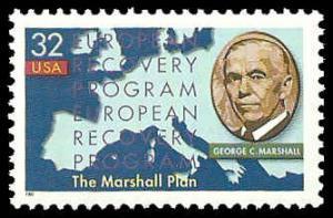 PCBstamps     US #3141 32c Marshall Plan, 1997, MNH, (12)