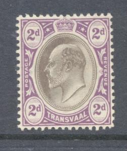 Transvaal Sc 270 1904 21d Edward VII stamp mint
