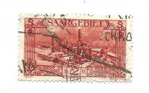 SAAR 1927 - Scott #133 *