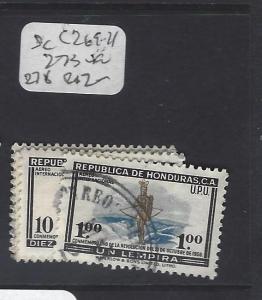 HONDURAS  (PP0401B)  SC C269-271, 273       VFU