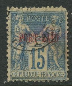 Port-Said - Scott 7 - Commerce & Navigation -1899 - FU - Single 15c Stamp