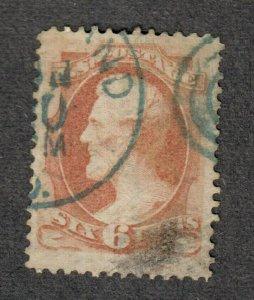 US Sc#159 Used/EF, Cv. $18