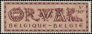Belgium #B354-B359, Complete Set(6), 1943, Never Hinged