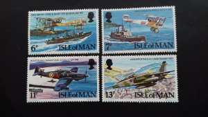 Isle of Man 1978 The 60th Anniversary of the Royal Air force Mint