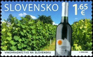 Stamps Of Slovakia 2020. Joint issue with Malta: viticulture in Slovakia