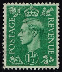 Great Britain #282 King George VI; Used (0.50)