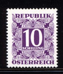 Austria 1949 Scott #J259 MNH