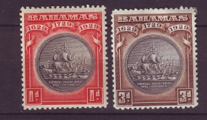 J24095 JLstamps 1930 bahamas mh #85-6 ships