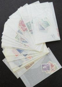 EDW1949SELL : NORWAY Beautiful VF, Used collection of sgls & Cplt set. Cat $366.
