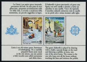 San Marino 1171 MNH EUROPA, Children's Games, Architecture