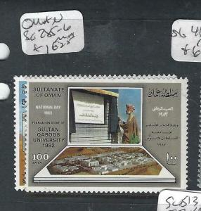 OMAN  (P1604BB)  UNIVERSITY  SG 285-6  MNH
