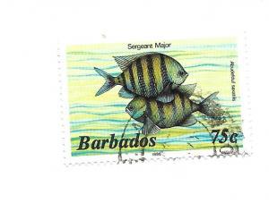 Barbados 1985 - Scott #654