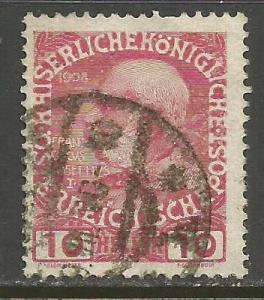 AUSTRIA 115 VFU W085-2