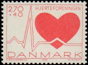 Denmark #B65, Complete Set, 1989, Medical, Never Hinged