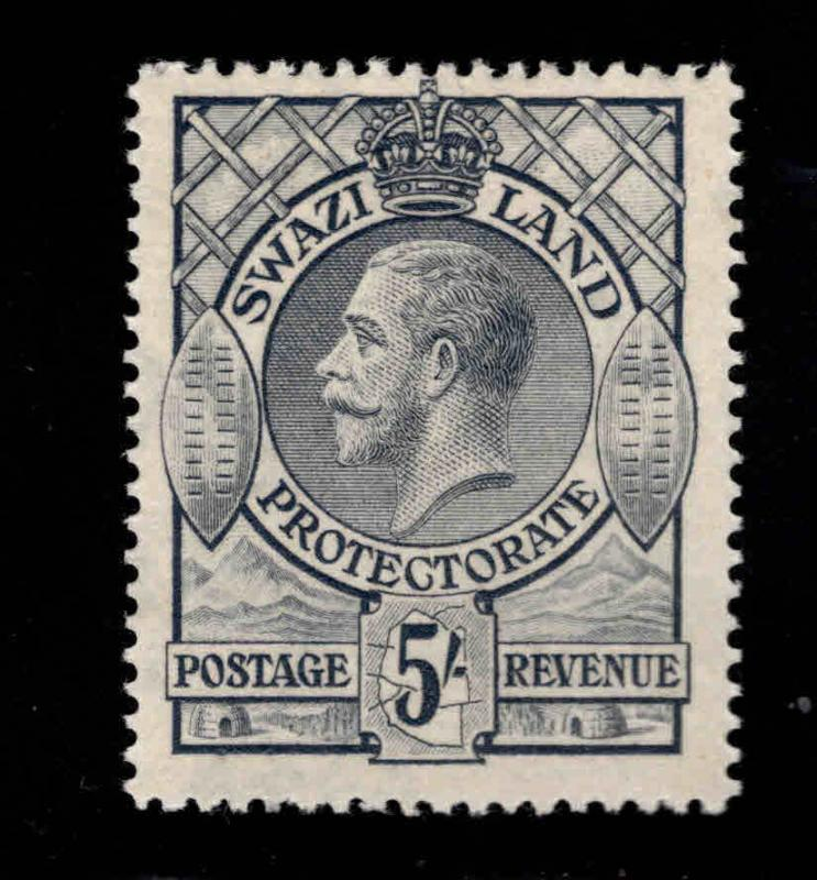 Swaziland  Scott 18 MH* KGV stamp Nice color and centering SG 19