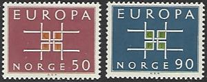 Norway #441-442 MNH Set of 2 Europa