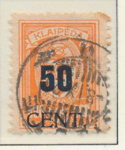 Memel Stamp Scott #N77, Used - Free U.S. Shipping, Free Worldwide Shipping Ov...