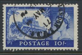 Great Britain  SG 597a SC# 373 Used  Wilding definitive  BW Printing