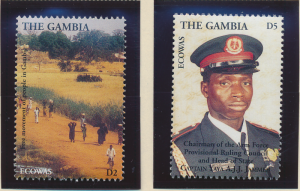 Gambia Stamps Scott #1620 To 1621, Mint Never Hinged - Free U.S. Shipping, Fr...