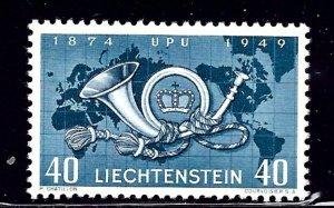Liechtenstein 237 MNH 1949 UPU    (ap2223)