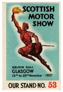 (I.B) Cinderella Collection : Scottish Motor Show (Glasgow 1937)