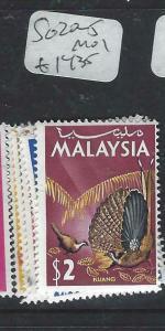 MALAYSIA   (P1404BB)  BIRDS  SG 20-5   MOG