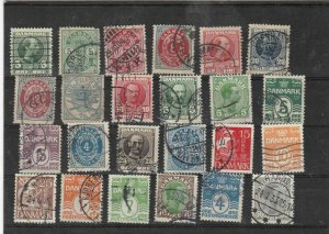 denmark used stamps  Ref 9266