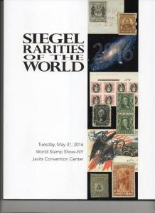 Siegel Rarity Sales of the World