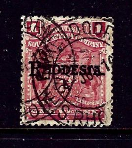 Rhodesia 60 Used 1898 Overprint