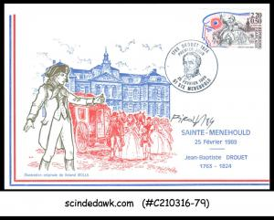 FRANCE - 1989 FRENCH REVOLUTION - FDC SIGNED