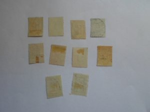 FINLAND STAMPS LOT OF 10 stamps ( used ) # 5