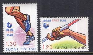 Finland 682-683 MNH VF