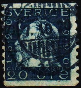 Sweden. 1920 20ore S.G.120A Fine Used
