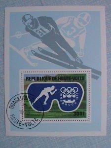 1975 UPPER VOLTA- INNSBRUCK OLYMPIC 1976 S/S