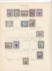 NORTH BORNEO 1939-45 VALUES MINT/USED,