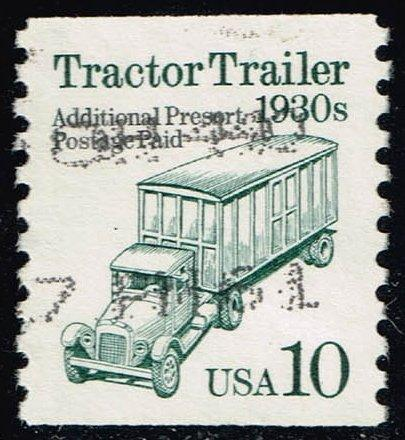 US #2458 Tractor Trailer; Used (0.25)