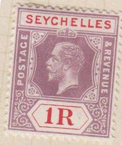 SEYCHELLES - Sc 86 / Mint HR - die 1 / George V